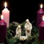 Advent season candles